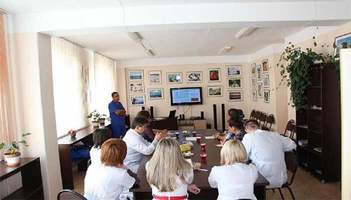 دانشگاه پاولوف سنت پطرزبورگ - بخش های مختلف دانشگاه