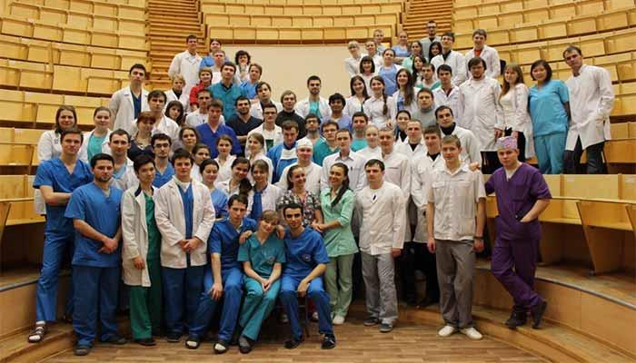 دانشگاه پاولوف سنت پطرزبورگ - رشته پزشکی در دانشگاه پاولوف