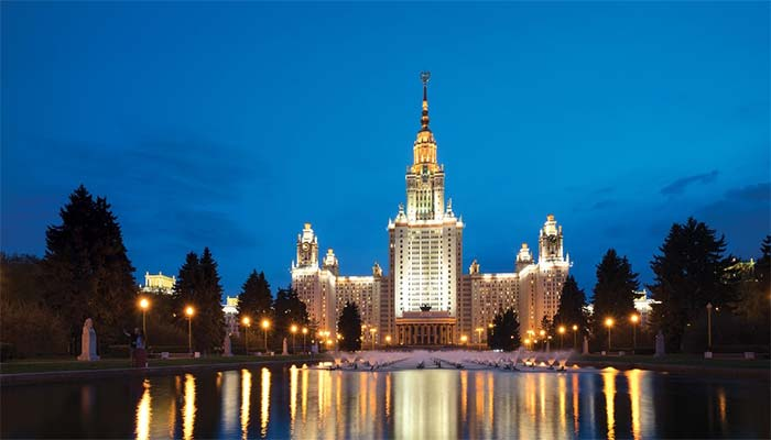 دانشگاه لومونوسف مسکو - دانشکدهها
